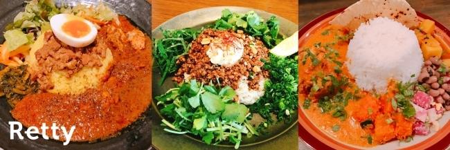 実名グルメサービスRetty、「外食のカレー」に関するアンケートを実施:「月に1回以上食べる」が約5割、「インドカレー」の支持と「スパイス文化」の浸透、外食での本格カレーが人々の生活に完全定着した理由