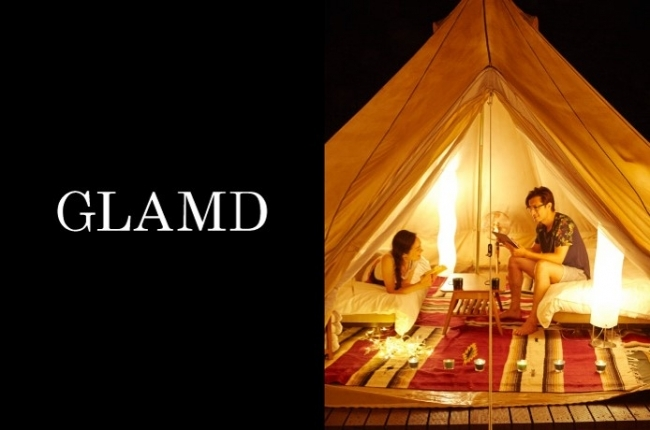 全国のグランピング施設がひと目でわかる!日本初のグランピング専門検索・予約サイト「GLAMD(グランド)」サービス開始 ~休日の過ごし方にこれまでにないラグジュアリーな非日常体験を提案~
