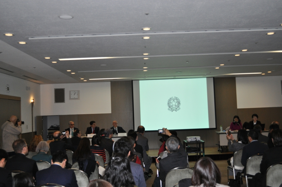 FOODEX JAPAN2018(第43回国際食品・料飲展)イタリア館記者発表会実施‐イタリア大使館貿易促進部‐