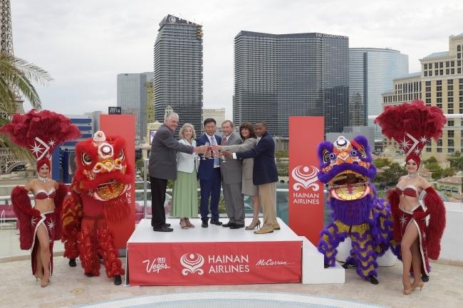 海南航空 ラスベガス-中国直行便新規就航