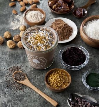 スムージー専門店「FICO & POMUM JUICEを展開する株式会社にしの(代表者:西野 正雄) 「スーパーフード全米シェアNo.1ブランド」と協業  オーガニックな健康食材を組み込んだ 新メニューを提供開始