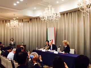 「イタリアワイン三千年2017 」記者発表会実施  イタリア大使館 貿易促進部