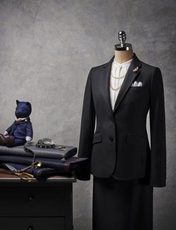 女性向け「パターンオーダースーツ」全国38店舗で全店展開 「ポール・スチュアート」婦人服
