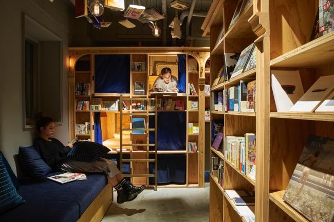 泊まれる本屋「BOOK AND BED TOKYO」6店舗目が大阪・心斎橋に今秋オープン