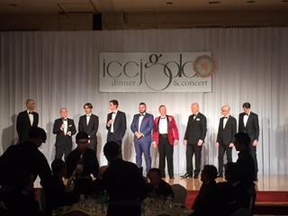 ICCJガラディナー&コンサート THE ELEMENTSがヒルトン東京ホテルで開催!-在日イタリア商工会議所-