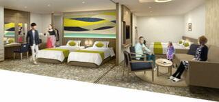 """""""三世代旅""""が人気!最大7名まで宿泊が可能な「ファミリーデラックスルーム」3月25日オープン~ホテルグランヴィア岡山"""