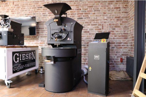 コーヒー焙煎の世界大会(WCRC)公式マシン「Giesen Coffee Roasters」が新しい日本展開をスタート.ーネイビーブルー株式会社ー
